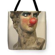 David With Makeup And Clown Nose 1 Tote Bag