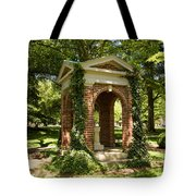 Davidson College Old Well Tote Bag