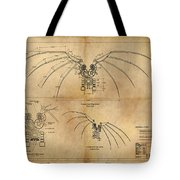 Davinci's Wings Tote Bag