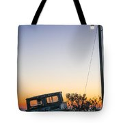 Davis Aground Tote Bag