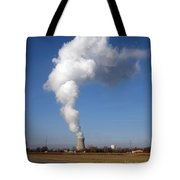 Davis Besse Nuclear Power Plant Tote Bag
