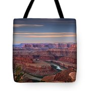 Dawn At Dead Horse Point Tote Bag