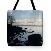 Dawn At The Cove Tote Bag