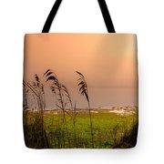 Dawn At The Lake Tote Bag
