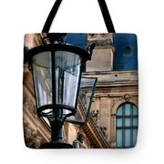 Dawn At The Louvre Tote Bag