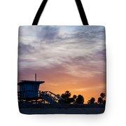 Dawn At Venice Beach Tote Bag