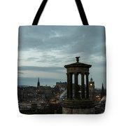 Dawn In Edinburgh Tote Bag