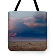 Dawn In Ngorongoro Crater Tote Bag