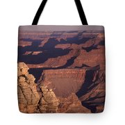 Dawn In The Grand Canyon Tote Bag