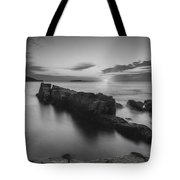 Dawn Of A New Day Bw Tote Bag