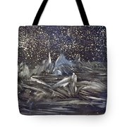 Dawn Of The Moon Tote Bag
