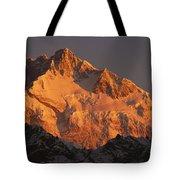 Dawn On Kangchenjunga Talung Tote Bag