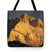 Dawn On Kangchenjunga Talung Face Tote Bag