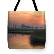 Dawn On The Bayou Tote Bag