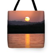 Dawn Over Darien Tote Bag