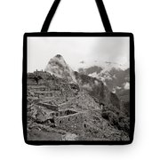 Dawn Over Machu Picchu Tote Bag