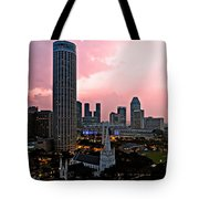 Dawn Over Singapore Tote Bag
