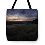 Dawn Over The Hills Tote Bag