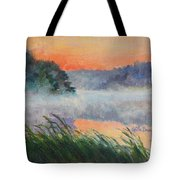Dawn Reflection Study Tote Bag