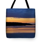 Dawning Of The Mountain Tote Bag