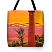 Dawn's Light At Little Sable Tote Bag