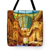 Day At The Galleria Tote Bag
