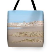 Day At The Moroccan Fishing Village Tote Bag