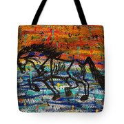 Day Dreaming In The Rain Tote Bag