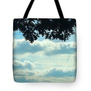 Day Dreaming With Clouds Tote Bag
