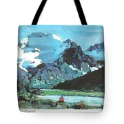 Day In The Wilderness Tote Bag
