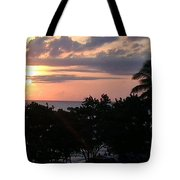 Day Is Almost Done Tote Bag