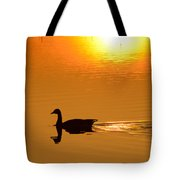 Day Is Ending Tote Bag