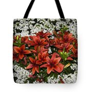 Day Lillies Tote Bag