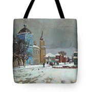 Day Of Snow Tote Bag
