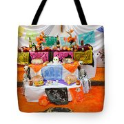Day Of The Dead Altar, Mexico Tote Bag