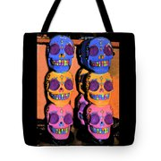 Day Of The Dead Ink Tote Bag