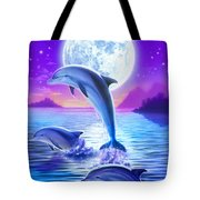 Day Of The Dolphin Tote Bag