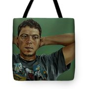 Day Portrait Of A Young Man Tote Bag