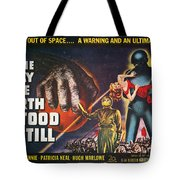 Day The Earth Stood Still Tote Bag
