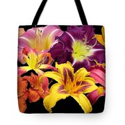 Daylily Banner Tote Bag