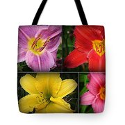 Daylily Days  Tote Bag