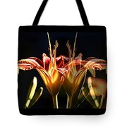 Daylily Doubled Tote Bag