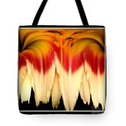Daylily Flower Abstract 2 Tote Bag