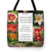 Daylily Math Tote Bag