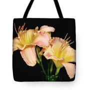 Daylily Pair Tote Bag