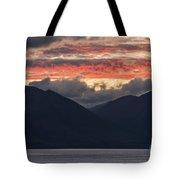 Days End On Lake Wakatipu Tote Bag
