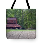 Days Gone By--tobacco Barn Series  Tote Bag