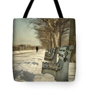 Days Of Cold Chills Tote Bag