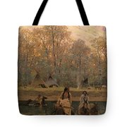 Days Of Long Ago Tote Bag