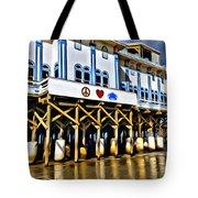 Daytona Beach Pier Tote Bag
